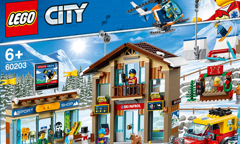LEGO City Ski Resort (60203) First Set Images Revealed