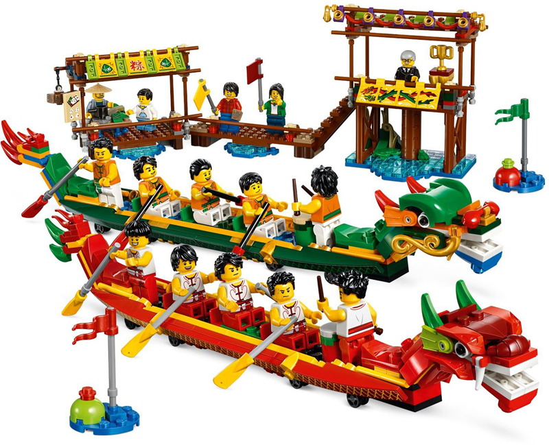 LEGO Dragon Boat Race (80103) Now Available at LEGO Shop@Home