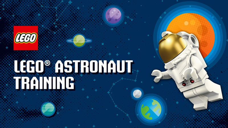 LEGO Astronaut Training