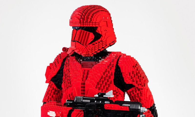 Sith Trooper Statue