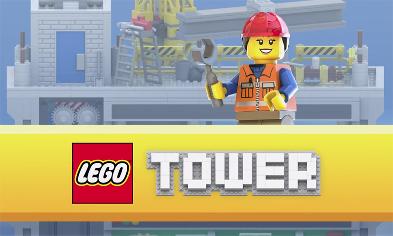 LEGO Tower Mobile Game Now Available for Download