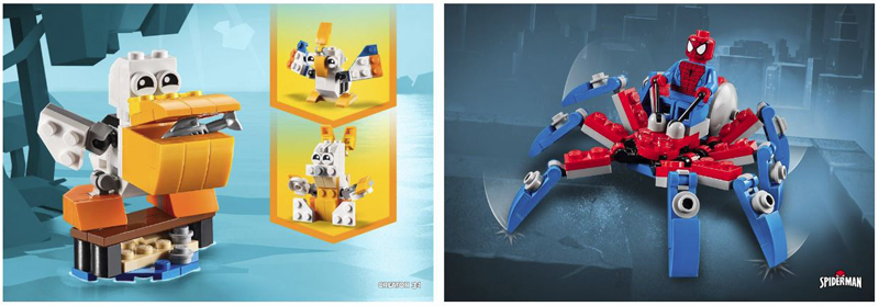 New LEGO Polybag Promotional Items Now Available At UK LEGO Shop@Home