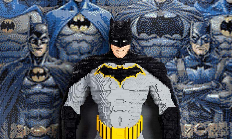 LEGO DC Batman Brick Statue To Be On Display at SDCC 2019