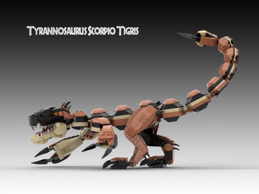 Brick-Built Hybrid Dinosaurs