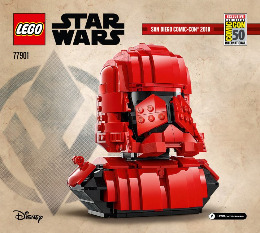 LEGO SDCC 2019 Exclusive Sets