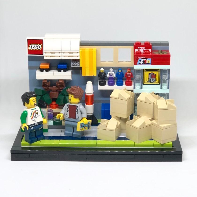 Winning Minifigure Vignettes