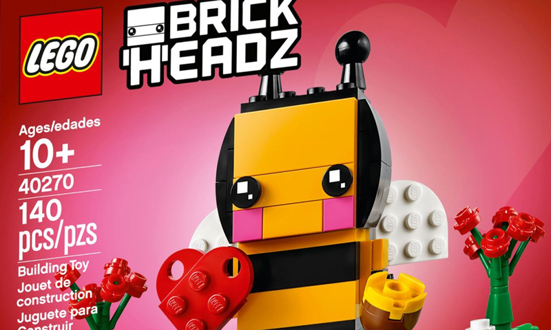 The LEGO BrickHeadz Bumble Bee (40270) Is Buzzing Again This Time As a LEGO Store Promotional