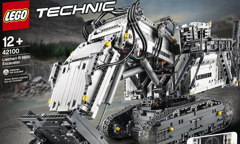 LEGO Technic Liebherr R 9800 (42100) More Official Images and Product Description Released