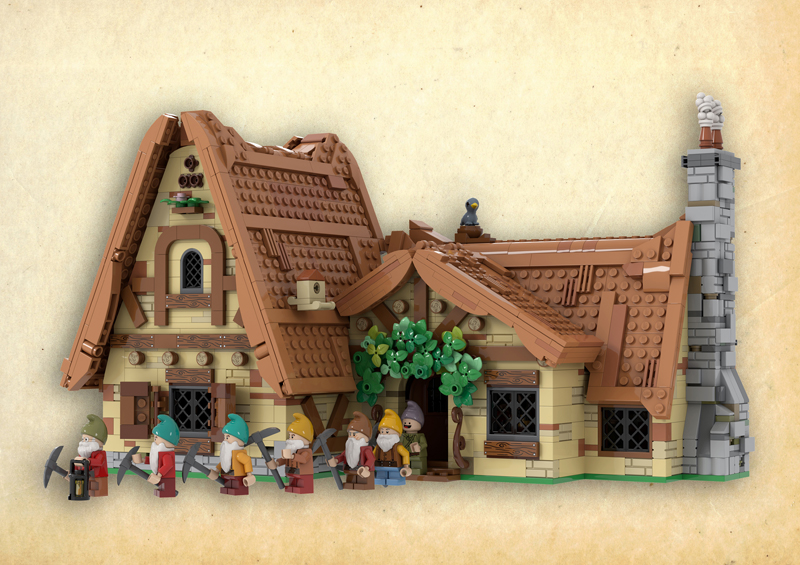 The Seven Dwarfs' House Reaches 10K Fan Support At LEGO Ideas