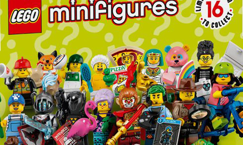 LEGO Collectable Minifigure Series 19 ****Checklist LEAFLET ONLY****