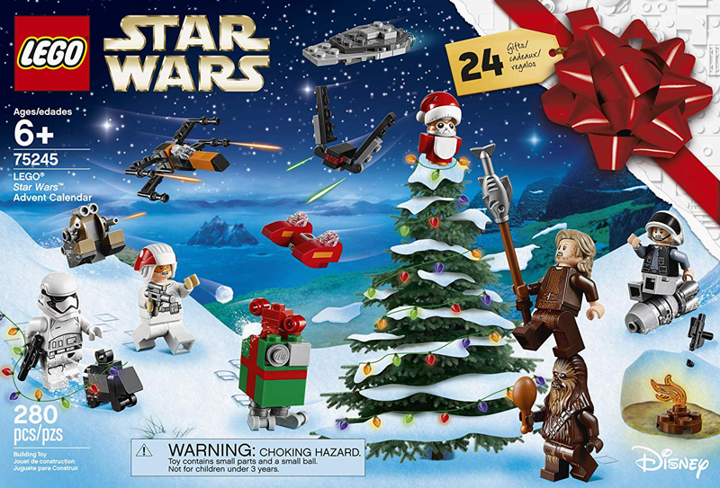 Calendrier Avent Lego Star Wars 2019.2019 Lego Advent Calendars Now Available For Pre Order Via