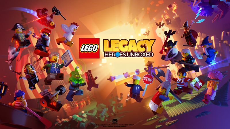 LEGO Legacy: Heroes Unboxed Mobile Game Now Open For Pre-Registration