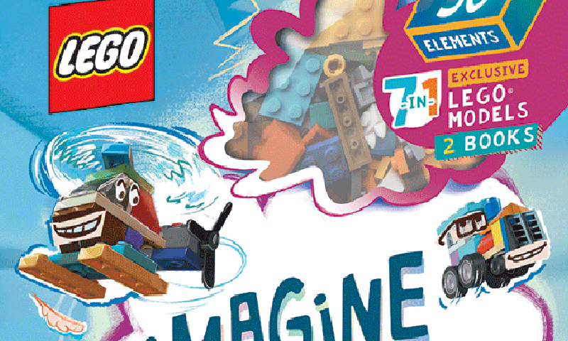 LEGO Imagine and Play Books Coming Soon