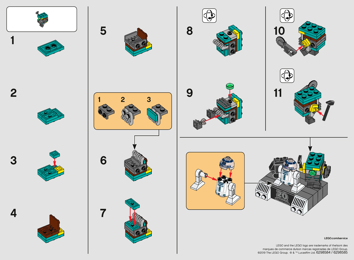 Building Instructions Archives - The Brick Show