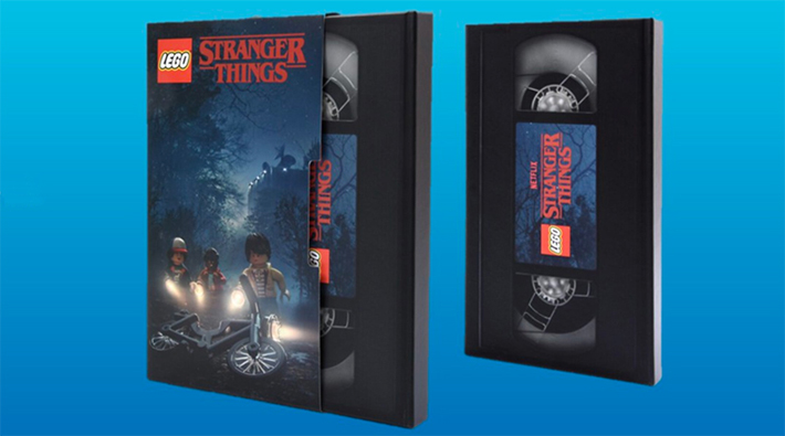 LEGO Stranger Things Sketchbook