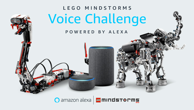 Put Your Robotics Mettle to the Test With the LEGO Mindstorms Voice Challenge