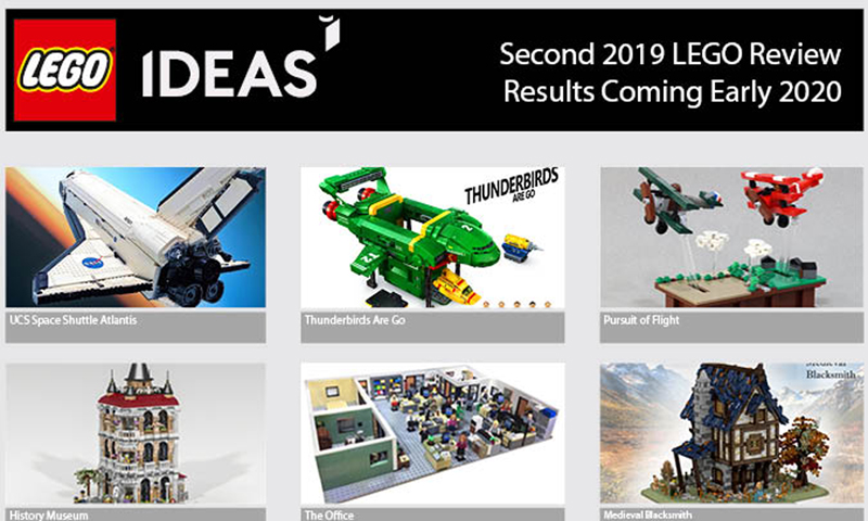 The LEGO  Ideas Second 2019 Review Stage Has Begun