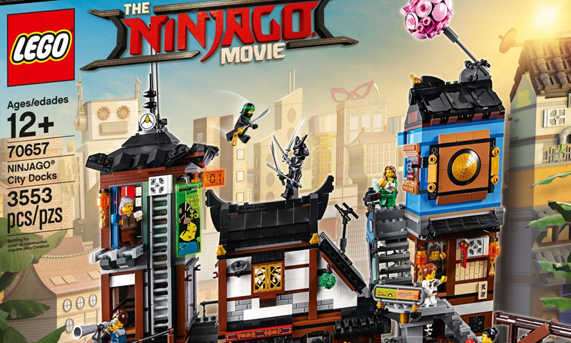 Ninjago City and Ninjago City Docks