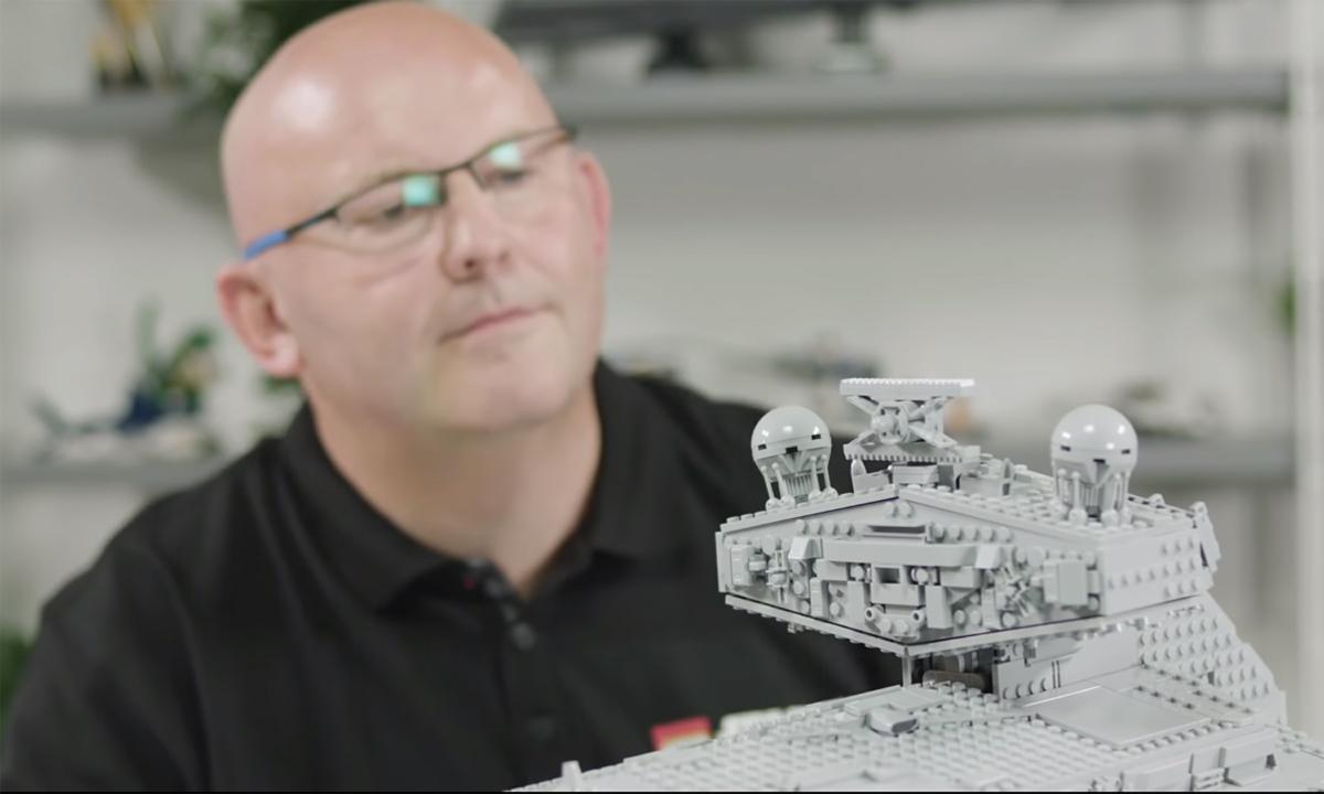 WATCH: LEGO Star Wars UCS Imperial Star Destroyer (75252) Designer Video