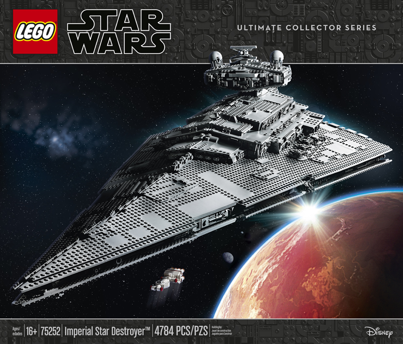 LEGO Star Wars UCS Imperial Star Destroyer (75252) to Come With a Certificate of Authenticity