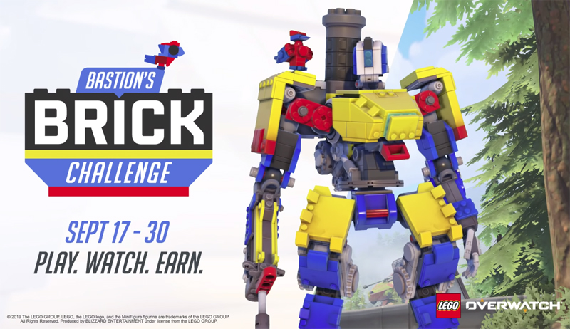 LEGO and Blizzard Launches Bastion's Brick Challenge