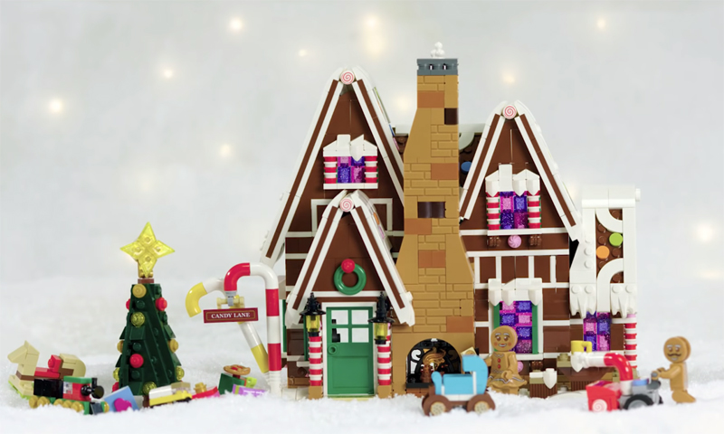 A Behind The Scenes Look at the LEGO Creator Expert Gingerbread House (10267)