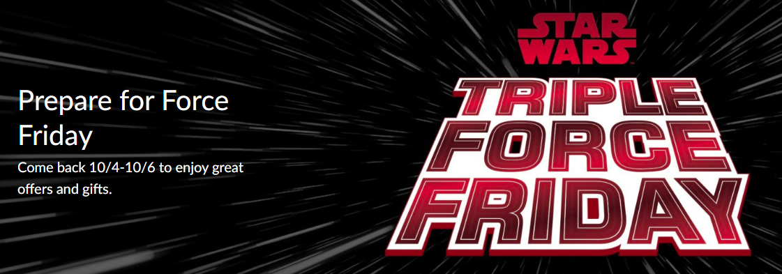 LEGO Star Wars Triple Force Friday Promos Announced