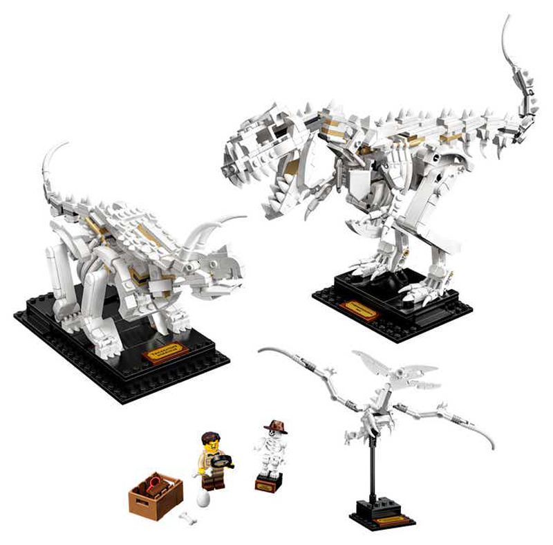 LEGO Ideas Dinosaur Fossils (21320) Officially Revealed