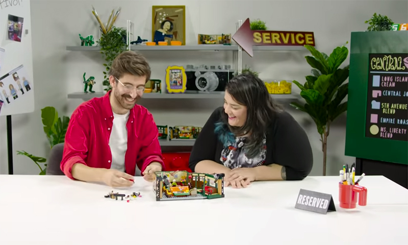 LEGO Ideas Central Perk (21319) Designer Video Released