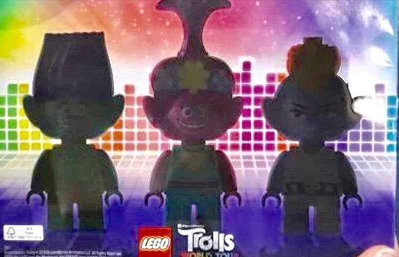 A First Glimpse at the LEGO Trolls Minifigures