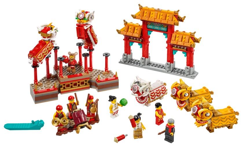 LEGO Lion Dance (80104)