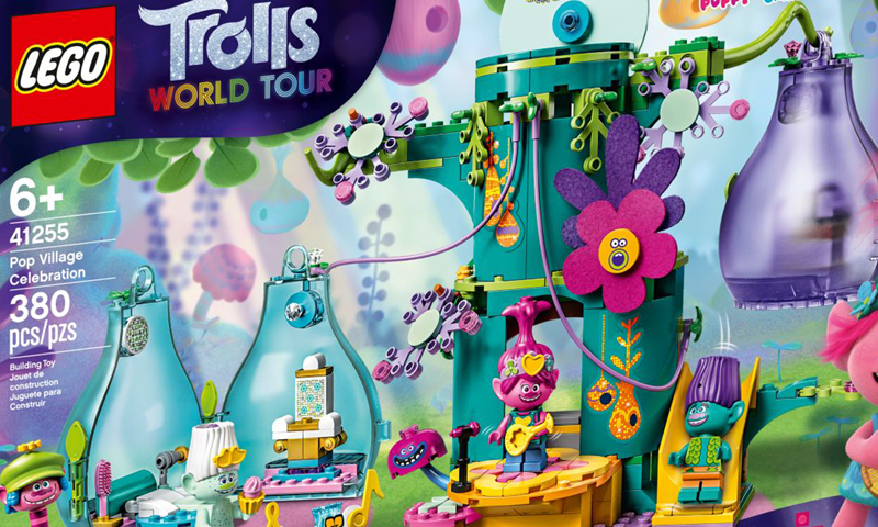 LEGO Trolls World Tour Sets Now Listed at LEGO Shop@Home