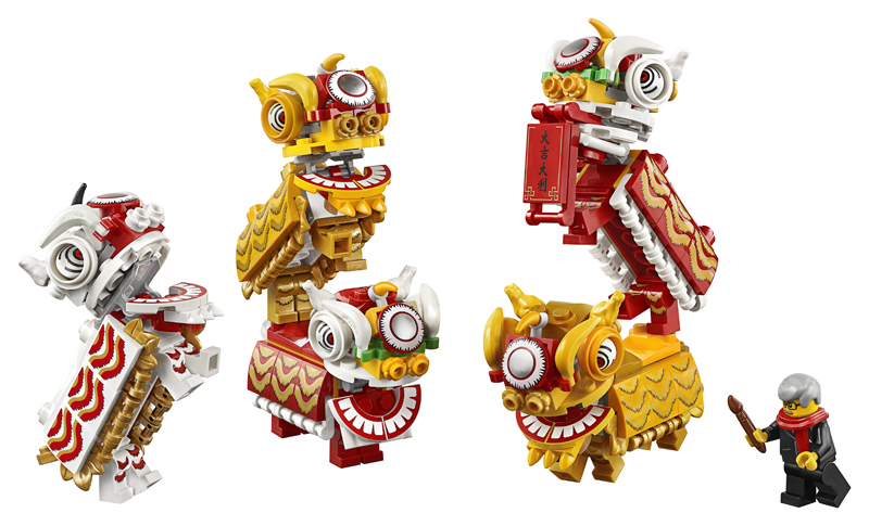 New LEGO Lion Dance (80104) Set Officially Revealed