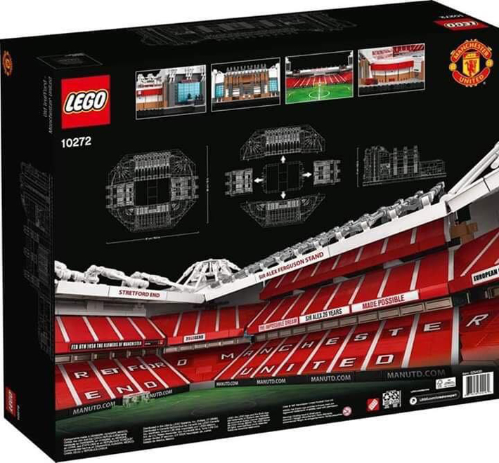 LEGO Creator Expert Old Trafford-Manchester United (10272)