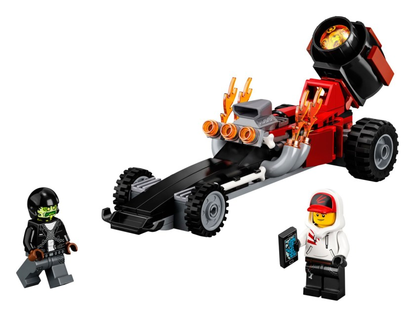 LEGO Hidden Side Drag Racer (40408)