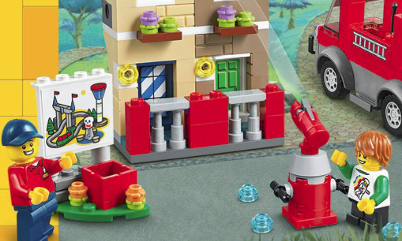 LEGOLAND Fire Academy (40393) Exclusively Available at LEGOLAND Parks and Discovery Centers