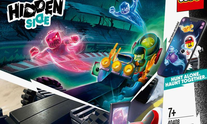LEGO Hidden Side Drag Racer (40408)