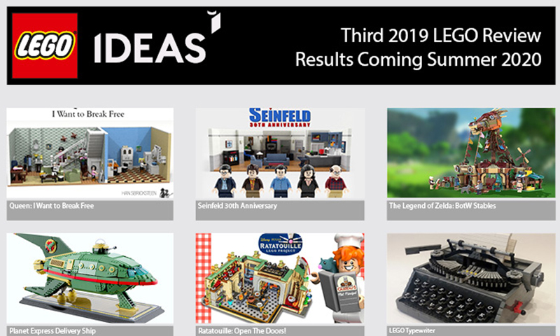 Third 2019 LEGO Ideas Product Qualifiers Announced
