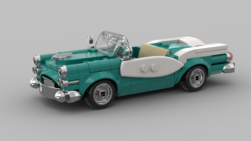 Cruise The Brick Streets With This Upcoming LEGO Ideas Vintage Car GWP Set