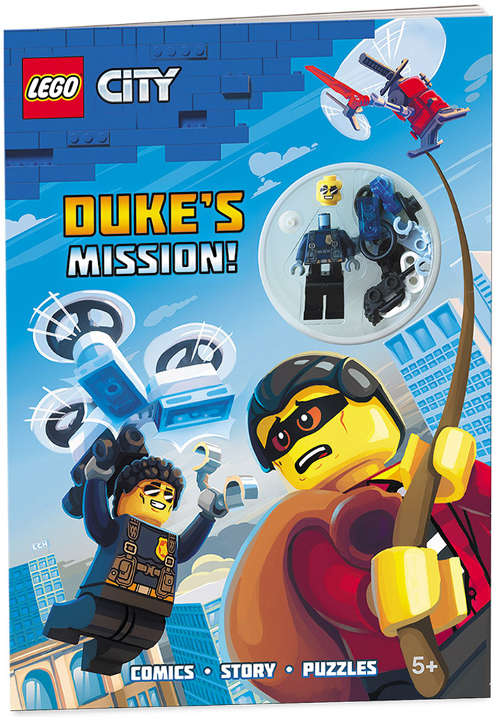 5 LEGO ACTIVITY BOOKS WITH FIGURE NEW RIDE ON CITY OF FUN AWESOME ADVENTURES