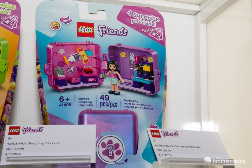 LEGO Friends Play Cubes