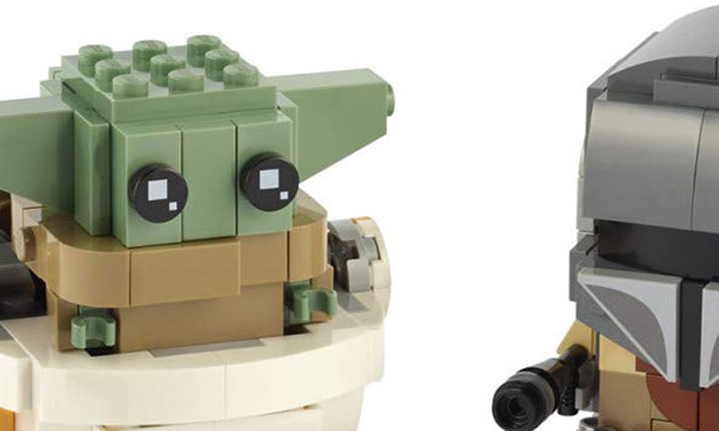 LEGO BrickHeadz Star Wars The Mandalorian and the Child (75317) Coming in August