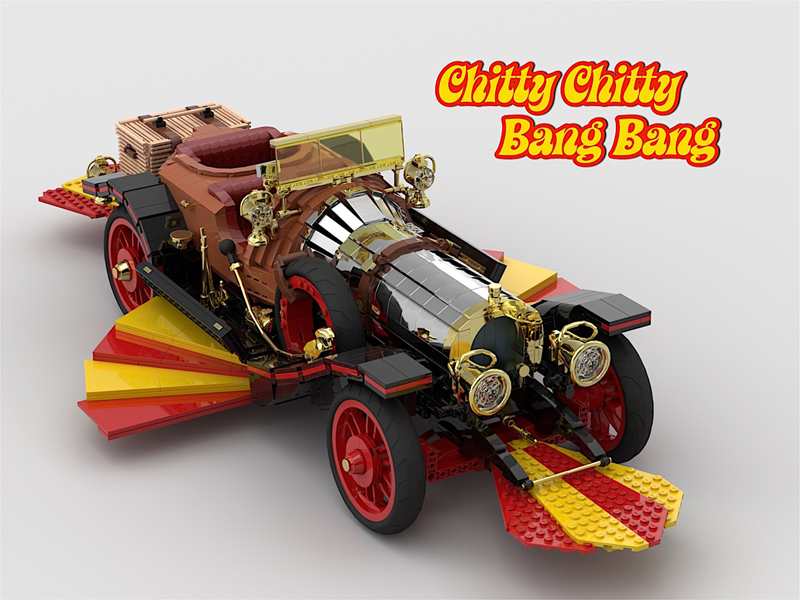 LEGO Ideas UCS Chitty Chitty Bang Bang Gets 10K Fan Support