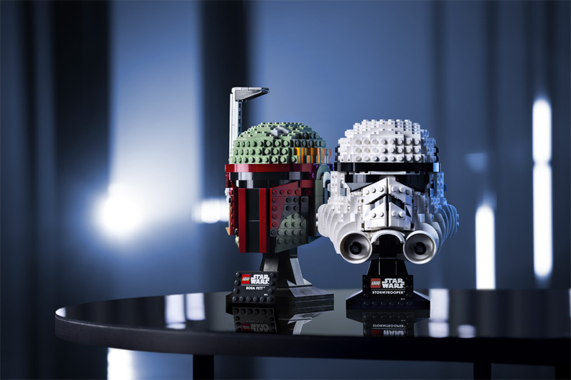 LEGO Star Wars Helmet Collection Officially Revealed
