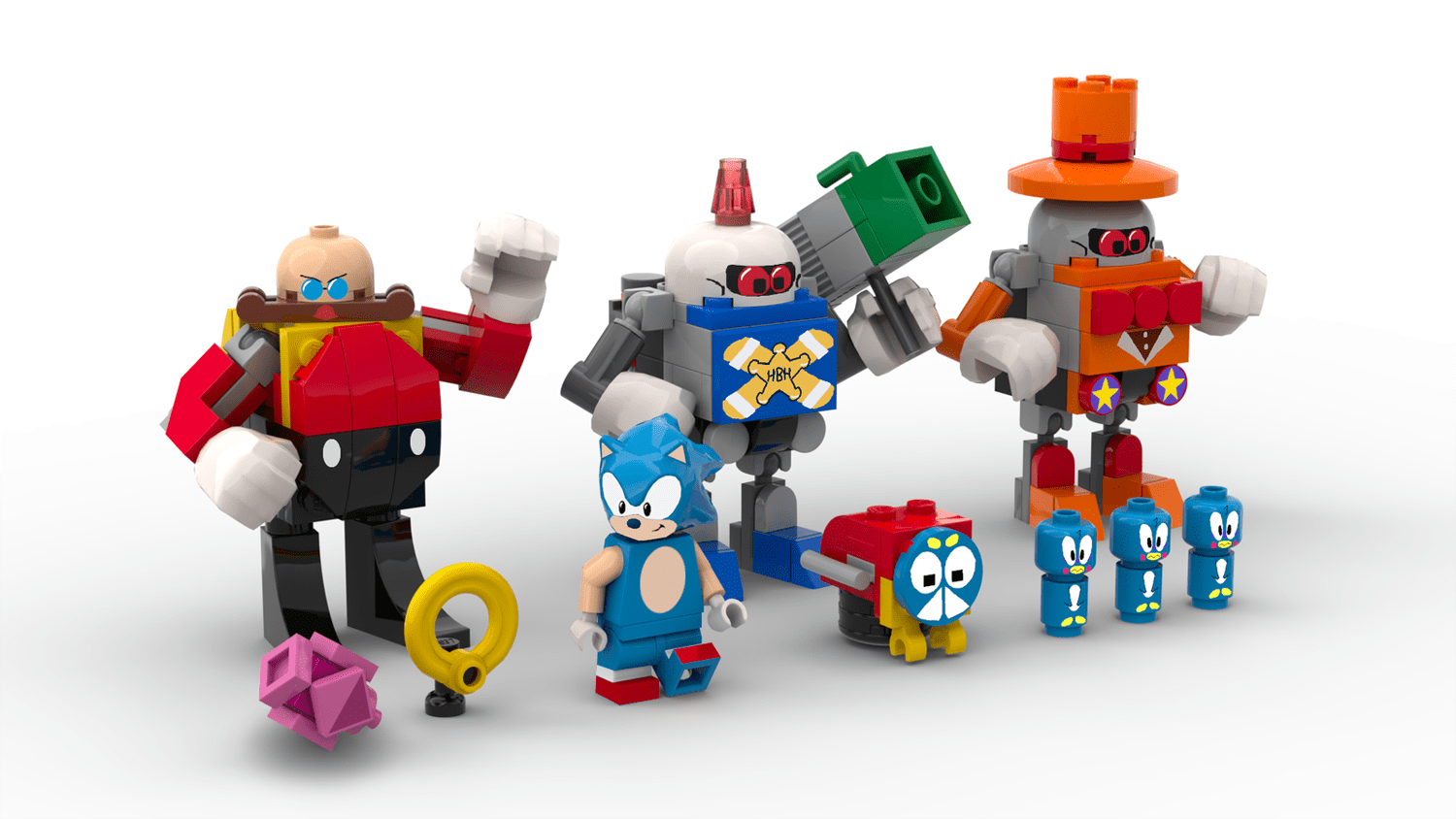Sonic Returns In This Lego Ideas Sonic Mania Green Hill Zone Project