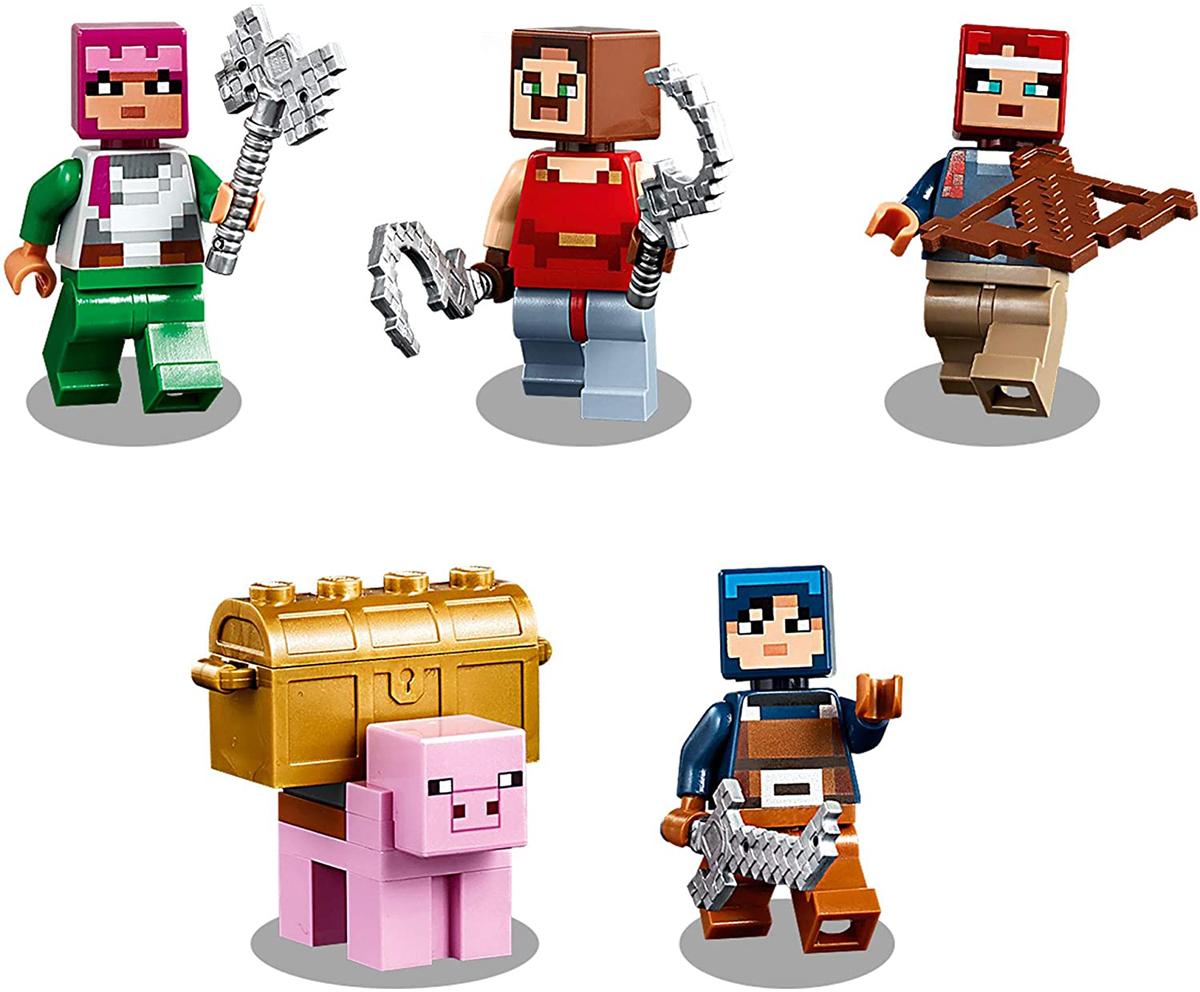 LEGO Minecraft sotterranei la battaglia Redstone 21163 nella casella Nuovo di zecca per 8 anni