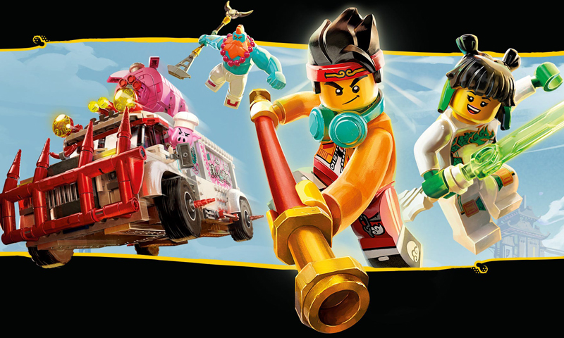LEGO Monkie Kid Now Available at LEGO Shop@Home