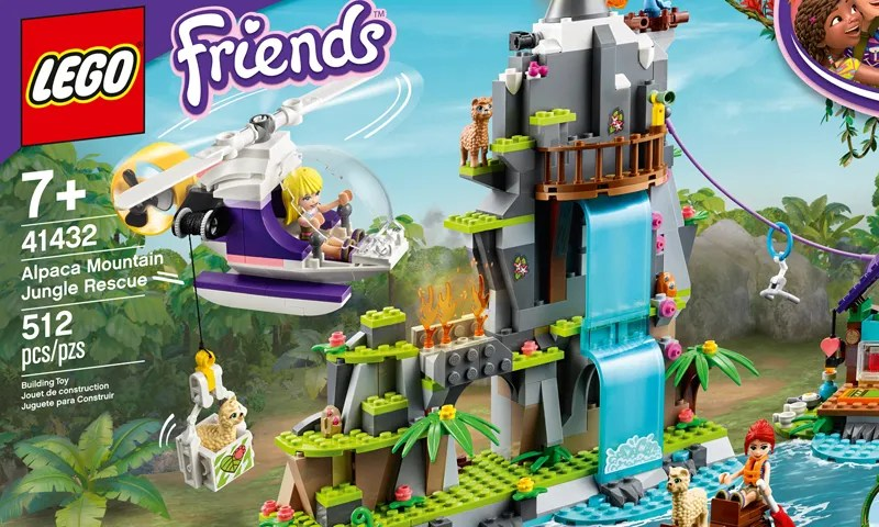 NEW!!! Lego Friends Medium Blue Elephant 67419pb01