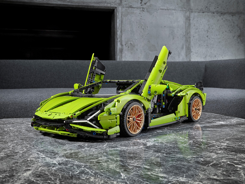 LEGO Technic Lamborghini Sián FKP 37 (42115) Officially Revealed