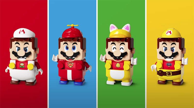 New LEGO Super Mario Power-Up Packs Announced